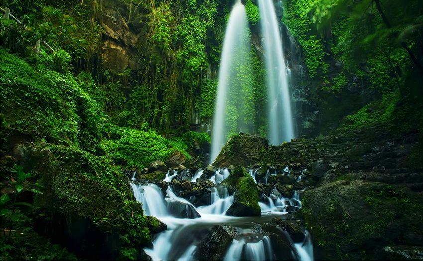 fresh waterfall
