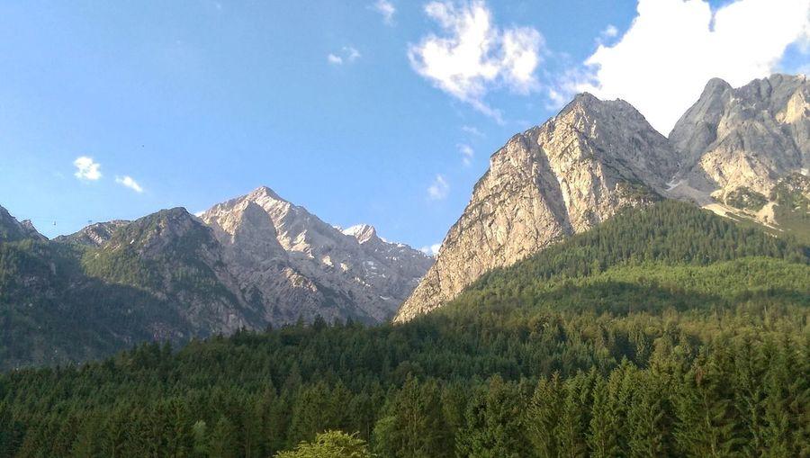 Alpenpanorama Beauty In Nature Formation Landscape Mountain Nature Scenics - Nature Sky