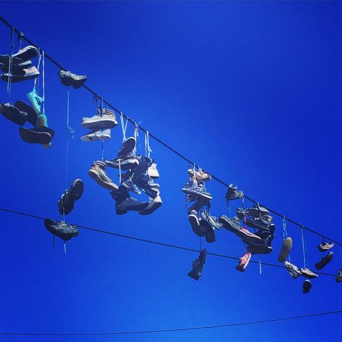 Shoes ArtWork Ghetto Streetstyle Ljubljana Slowenia Traveling Hanging Out Summer Bluesky