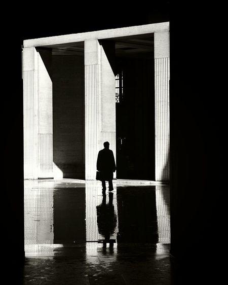 Caminantes Siluette Siluetas Black & White Monochrome Blanco Y Negro Blanco & Negro  Paris Snapshots Of Life