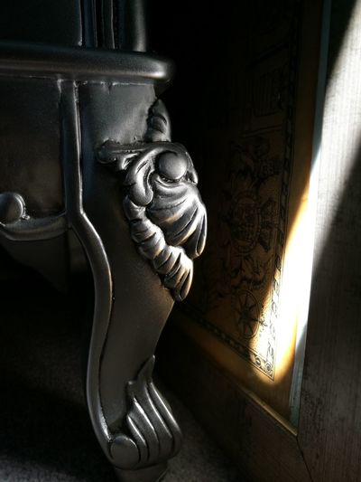Contrast Light And Shadow Reflection Silver  Silver Furniture Map Old Map Light Beam Light In The Darkness