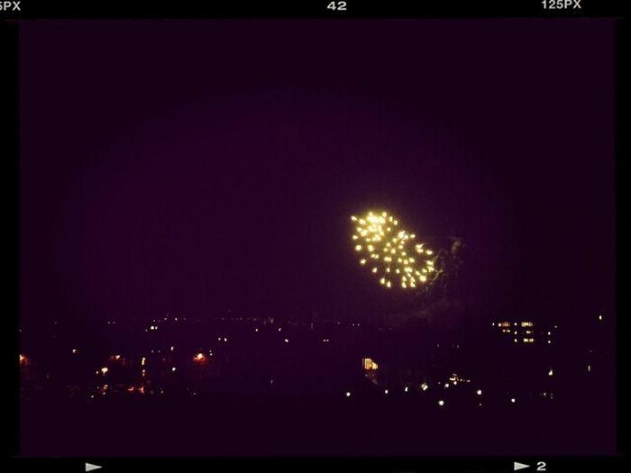 vuurwerk in Leuven! Fireworks Leuven Kerstmis