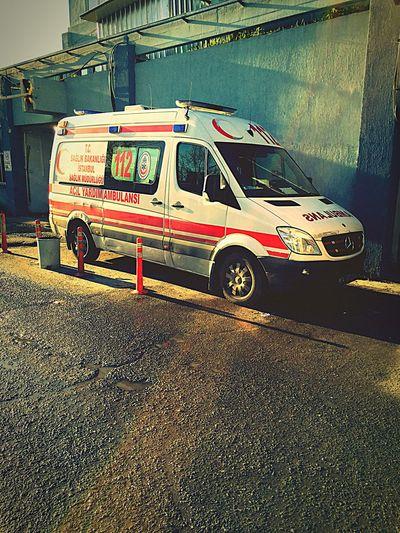 Paramedic ACİL TIP TEKNİSYENİ 112ACİL Sisli EmergencyMedical Mercedes Benz Ambulans Ambulance Turkey Istanbul