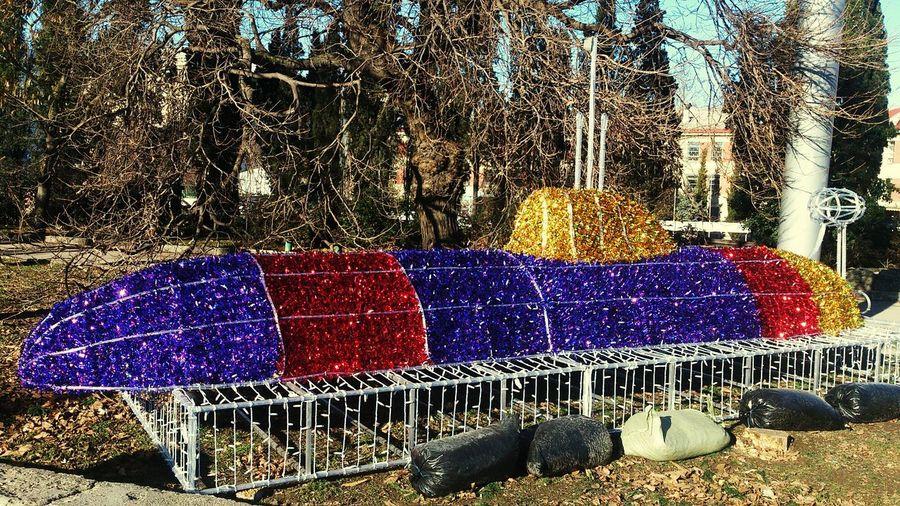 Multi Colored Sevastopol  Crimea Submarine Happy New Year