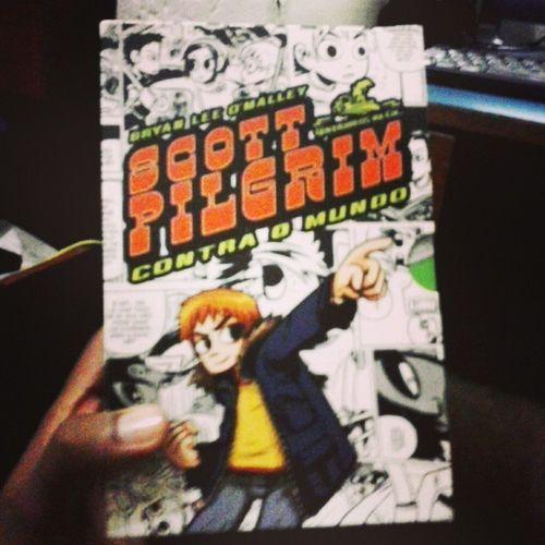 Hq Instahq Geek Box Scott_pilgrim Coleção Comics Quadrinhos Top Chegou!