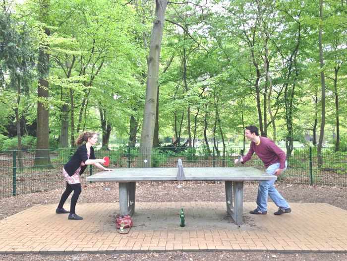 Death Match. Ping Pong Park Soaking Up The Sun Friends