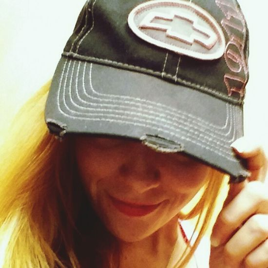Chevy girl Chevy Chevrolet Hat Chevynation Chevygirl