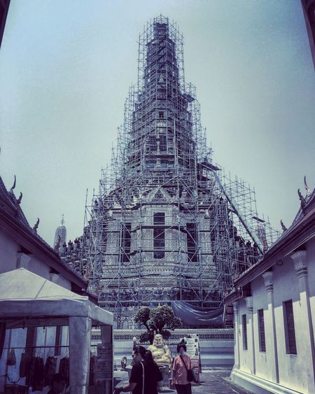 Bangkok Series - Wat Arun Temple! Watarunbangkok Bangkok Travelgram TripAdvisor Thailand Buildings Architecture Temple - Building