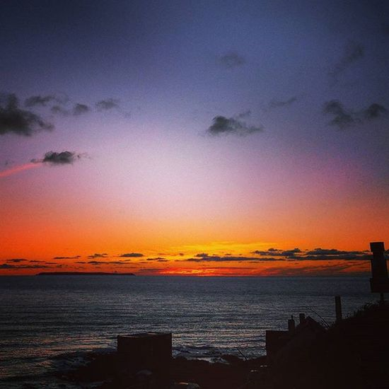 """ The End of The Day "" Sunset Endoftheday Rainbowskies Downend Croyde Devon Swisbest Swcoastpath Surfspot Lundy Coastalscene Coast Shotoftheday Bliss Atlantic Seascape Seaview"
