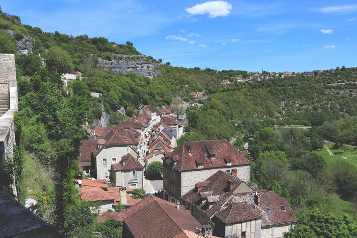 Architecture Building Exterior Cityscape Day France Mountain Nature No People Outdoors Residential  Rocamadour Roof Sky Summer Town Travel Travel Destinations Travelling Travelling Photography Tree