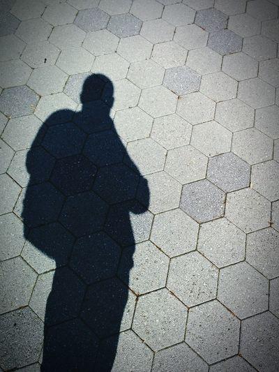 Shadow self portrait. Light And Shadow Self Portrait Hexagon Daylight Rule Of Thirds Nexus 5