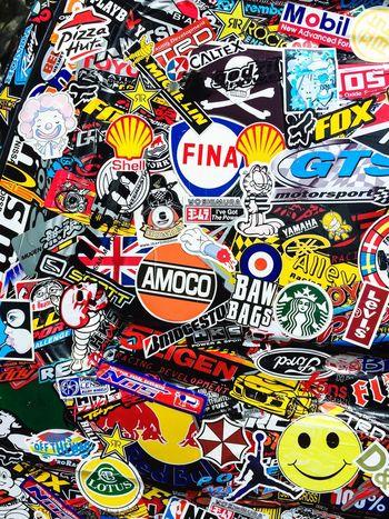 Stickerfest II Stickers Decal Brands  Colourful Logo Vinyl Label Decoration