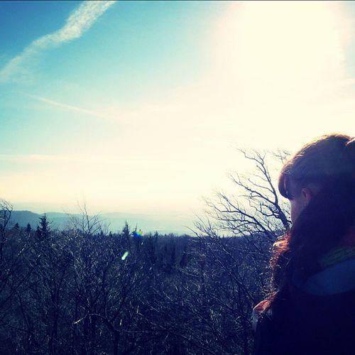 ślęza Trip Travel Dolny Śląsk Poland With My Lovely Boyfriend Blue Sky Sun Sunny Spring Beautifulday Beuty Forest Trees Landscape Nature Cisza Spokój Gory Polskie mountainslikeforlikepolishgirll4lf4f