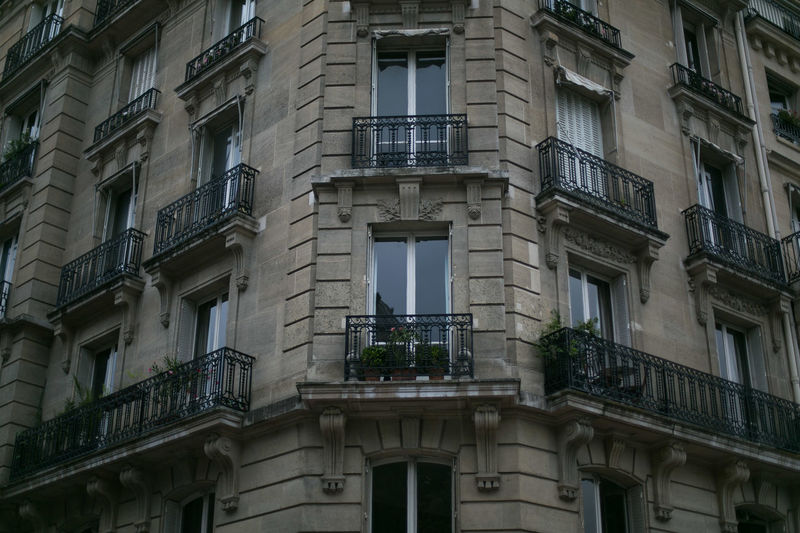 Front side of residential building in Paris, France Architecture Beautiful Economy France Home Paris Travel Apartment Architecture Balcony Building Exterior Built Structure Dark Light Flat History House Low Angle View Paris Architecture Parisian Real Estate Rent A Flat Residential Building Residential District Residential Structure Window