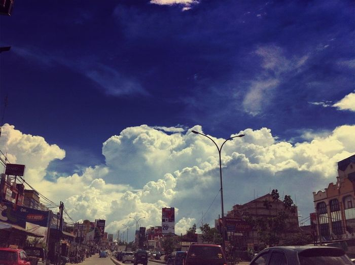 Clouds And Sky