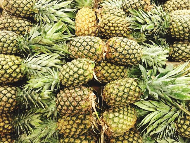 Pineapple Pineapple🍍 Healthy Eating Fruit Freshness Market Marketplace Vitamin Nutrition Yummy Tasty Succulents
