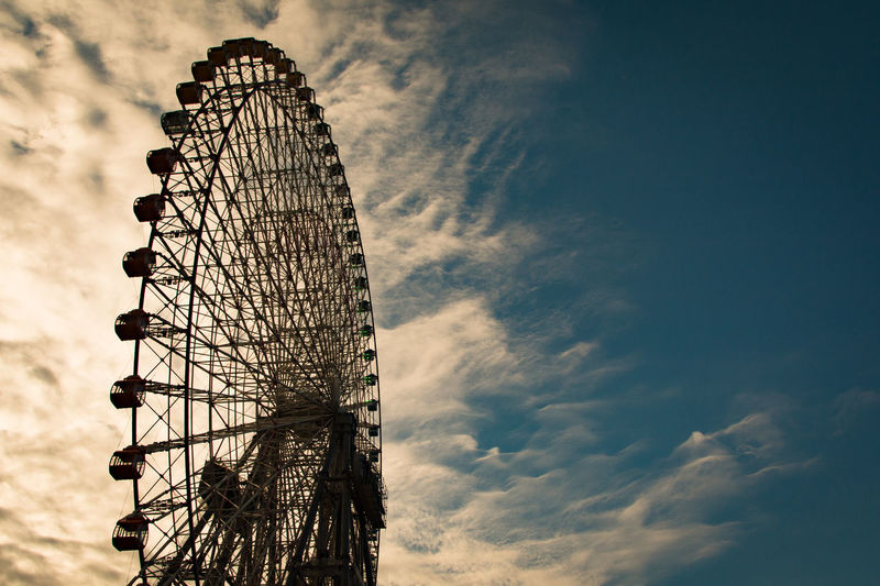 Amusement Park Amusement Park Ride Built Structure Cloud - Sky Day Ferris Wheel No People Outdoors Sky