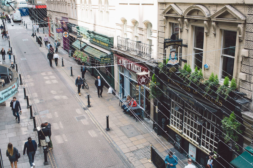 Architecture Building Exterior Built Structure City Day Group Of People High Angle View Land Vehicle Large Group Of People Lifestyles Men Outdoors People Real People Street Transportation Walking Women The Street Photographer - 2017 EyeEm Awards EyeEm LOST IN London Postcode Postcards