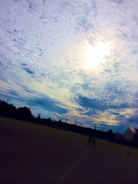世界を覆う雲… Sky Blue Good Afternoon! 青春