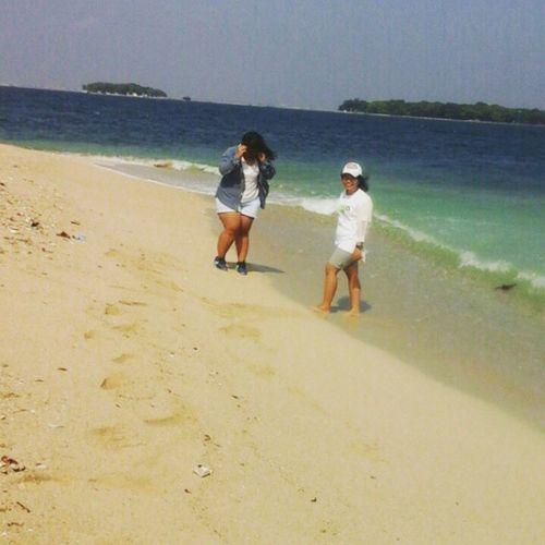 Beach Kepseribu Kelorisland Local_trip INDONESIA Weekend Withfriends Comejoinme Travelingku @rullytriaz