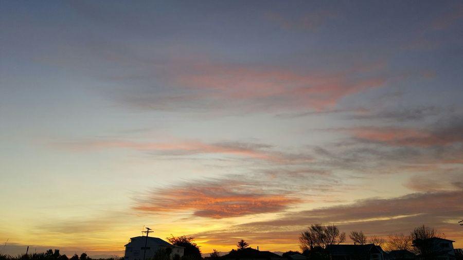2015 spring sunset