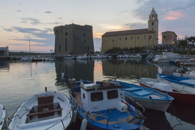 Acciaroli Acciaroli Harbor Harbour Salerno Cilento Harbor Nautical Vessel Outdoors Pollica Port Water