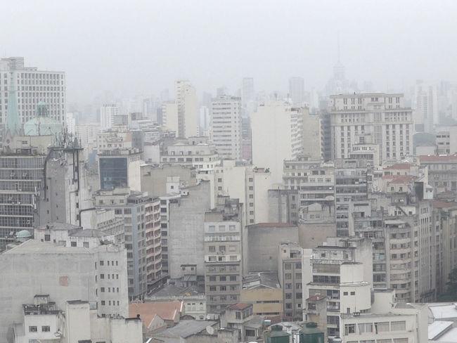 Architecture Built Structure City City Cityscape Dense Disorder Sao Paulo - Brazil Smog Urban Development Urban Skyline Urbanism