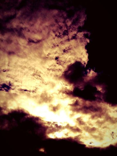 Backgrounds Full Frame No People Cloud - Sky Sky Nature Low Angle View Beauty In Nature Outdoors Scenics Day Astronomy Clouds Clouds On Fire Like Fire. Dramatic Sky Vintage Photo Orange Sky Romantic Sky Sunset Evening