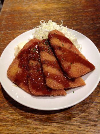 Yummy deep fried HAM;P