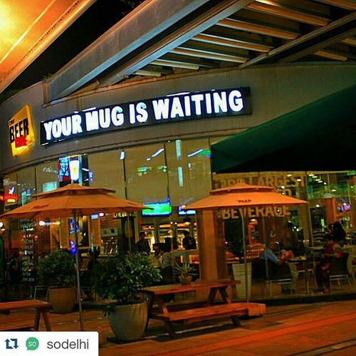 Repost @sodelhi ・・・ @letsbinjj is a great app providing live deals and experiences in Delhi ! Head to @thebeercafe at @dlf_cyberhub and binge away on some great offers - download the app and buy one get one free on selected beers! Slurp Glug Great Deals Live Experiences Discounts Combos Mug Beer Chug Yummy Delicious Realtime Download Firsthand Information Users Location Delhi Gurgaon DelhiNCR Sodelhi CyberHub instadrink instahub go try