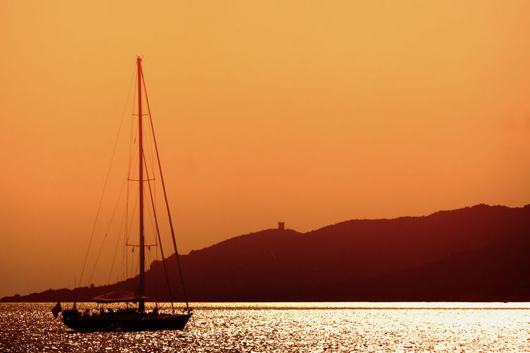 Sunset On Boat Diving Dreaming Holiday Holidays Relaxing Swimming Beauty In Nature Mast Nature Nautical Vessel Outdoors Sail Sailboat Sailing Sailing Ship Scenics - Nature Sea Sky Summer Sunset Tranquil Scene Tranquility Transportation Water Yacht It's About The Journey
