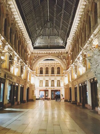 Architecture Indoors  Built Structure In A Row Ceiling History Travel Destinations