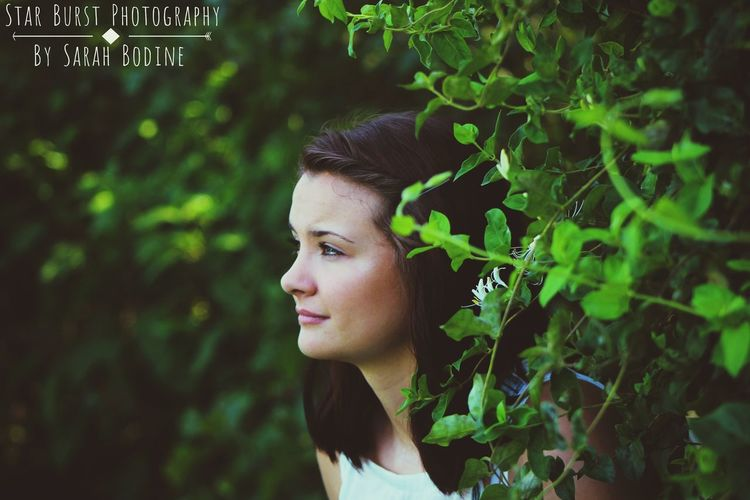 StarBurstPhotography Nature Teenager Only Women Real People Beautiful Woman Portrait Forest