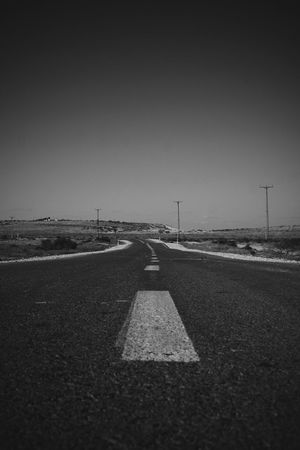 Oh The Places We'll Go Ontheroad Streetphoto_bw Blackandwhite Popular Taking Photos Desertroad Sound Of Life