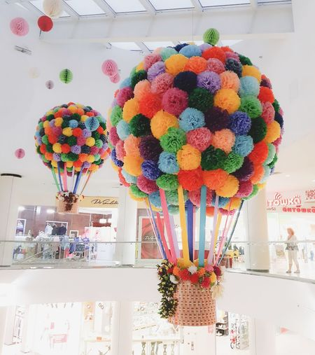 Multi Colored Variation Indoors  Day Weekend Summer Vacations Balloon