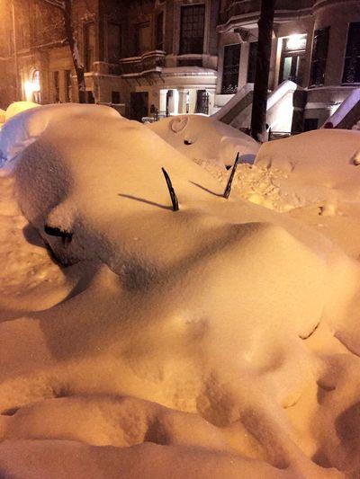 Snowstorm2016 Heartshape Buried In Snow Newyorkcity Upperwestside Heart Heartshaped Heart ❤ SNOW!!!! Windshield Shots Windshield Wipers
