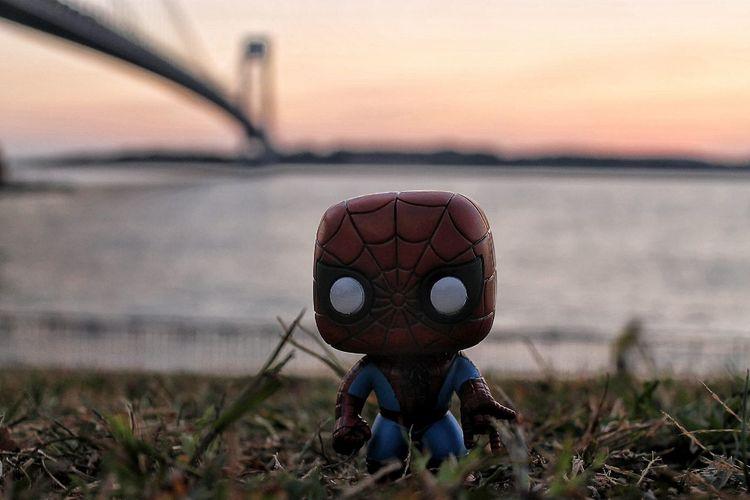 Spidey Spider-man Funkopopvinyl Marvel Comics Brooklyn