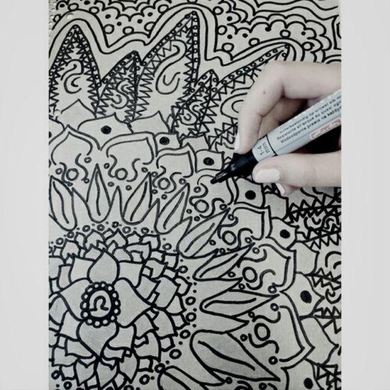 Mandala Art Drawing