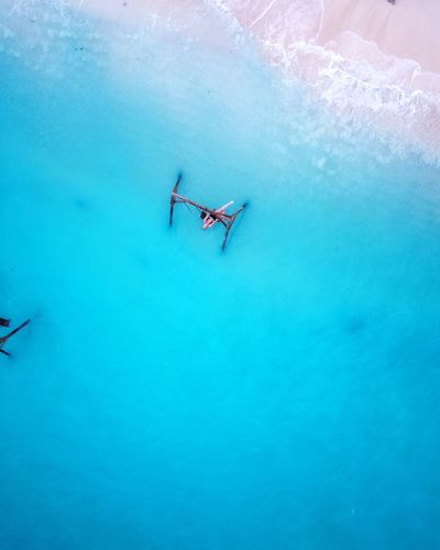 life is our playground, now go play. Travel Destinations Dji Drone  Aerial View Life Explore Play Blue Water Outdoors Day People Nature One Person first eyeem photo