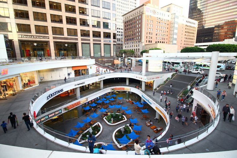 Downtown Mall Urban Architecture Architecture City High Angle View Building Exterior Built Structure
