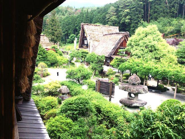 茅葺き屋根 日本 昔 日本 Japan