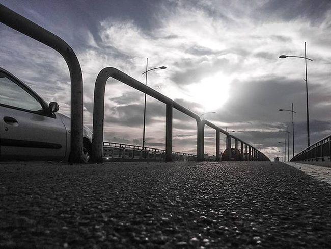 Sky Clouds Bridge Cesta Road New Now Love Capture Moment Novisad Vojvodina