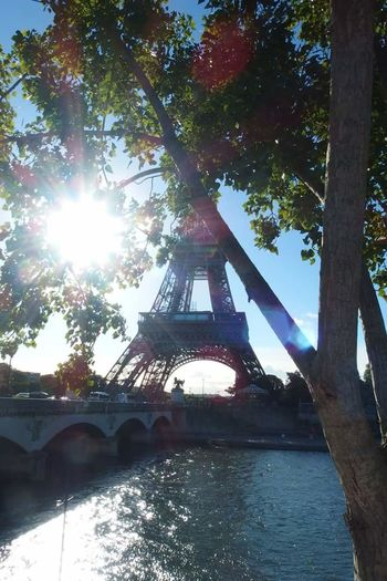 City Outdoors Paris ❤ Paris Eiffel Tower TourEiffeil Sunny Day Sun Nofilter