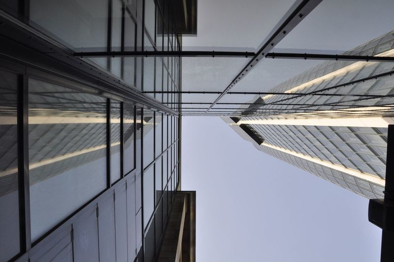 Upside Down Series Skyscraper Tall - High Tower Outdoors City Reflection Building Low Angle View Day No People Building Exterior Sky Built Structure Architecture EyeEmNewHere