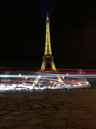 Colour Of Life Paris Paris, France  Effiel Tower Lighting HuaweiP9 Huaweiphotography PhonePhotography Lightpainting Lightpaintingphotography Traveling Europe Europe Trip Flyingfeelingphotography France 🇫🇷 France Love♥