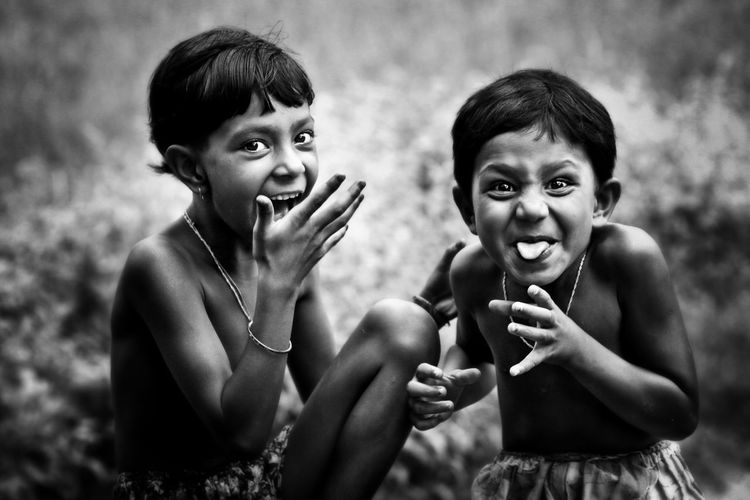 Daily lifestyle rural kids in bangladesh