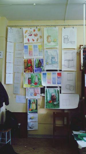 просмотр картины первый просмотр Художка рисунок живопись натюрморт начинающий художник