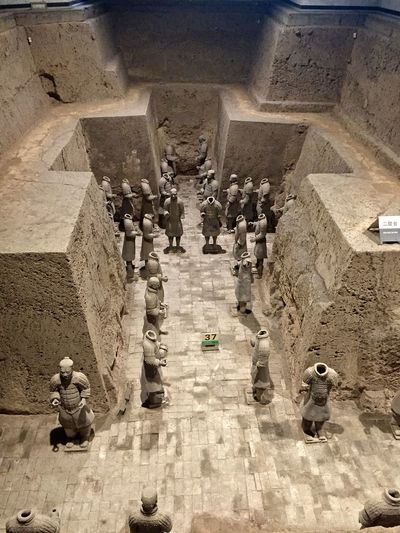 Ancient Architecture Army Built Structure Chinese Day History Lifestyles Outdoors Terra-cotta Tomb Warrior
