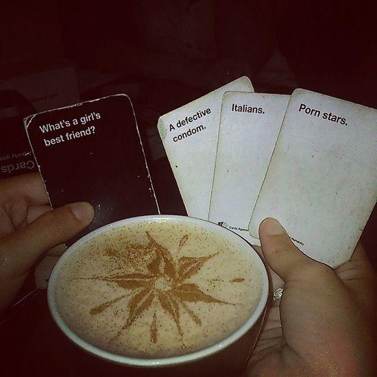 Snakes and lattes koreunion! Cardsagainsthumanity Koreunion Latteart