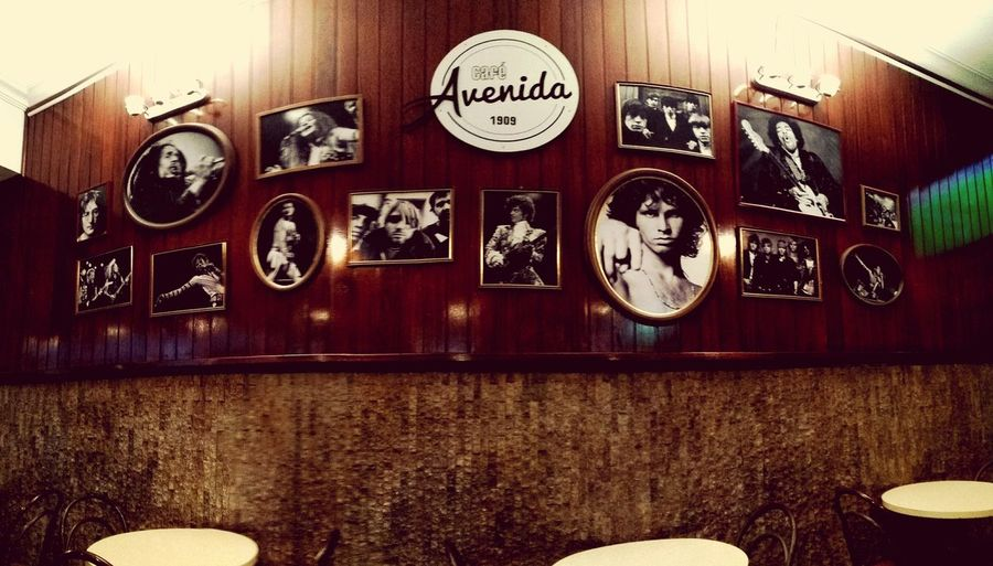 Bar - Drink Establishment Architecture Oldgreatmusic Thedoors Jimmyhendrix Metallica Coffee Avenida Since1902 Vintage